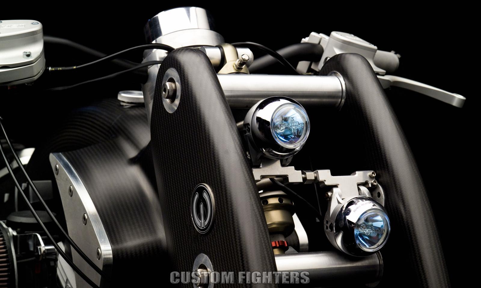 headlight assembly - Custom Fighters - Custom Streetfighter ... for Motorcycle Headlight Design  1lp1fsj