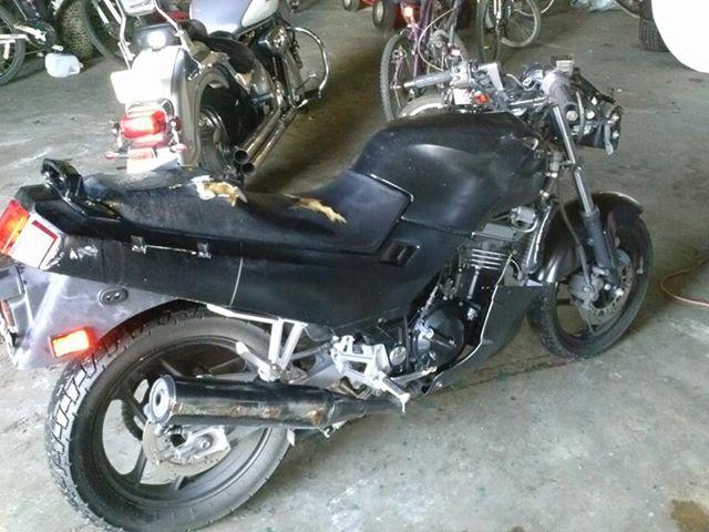 2004 Ninja 250R which parts? - Custom Fighters - Custom