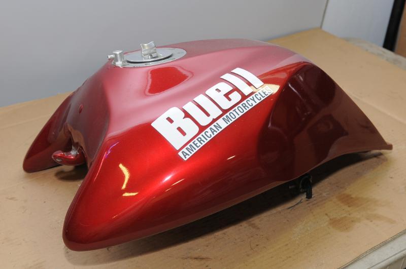 Buell Plastic fuel tank modification - Custom Fighters - Custom