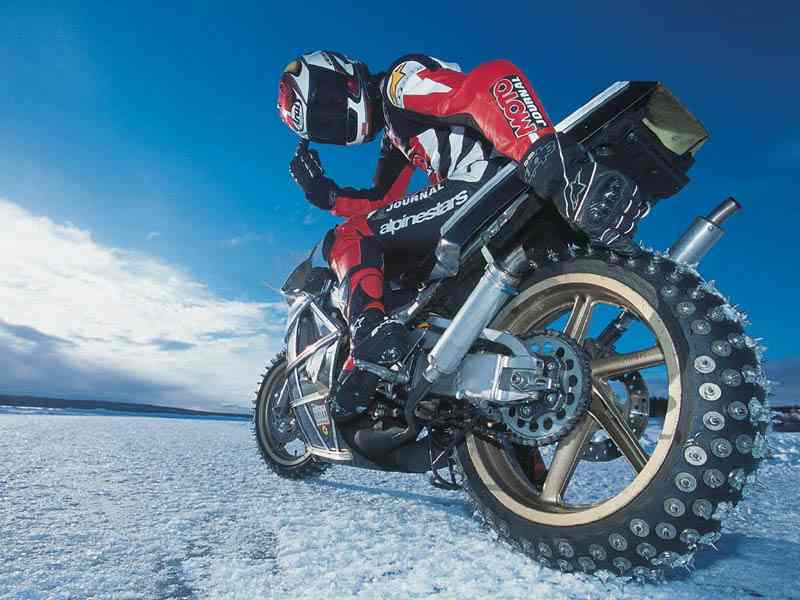 ice tires motorcycle