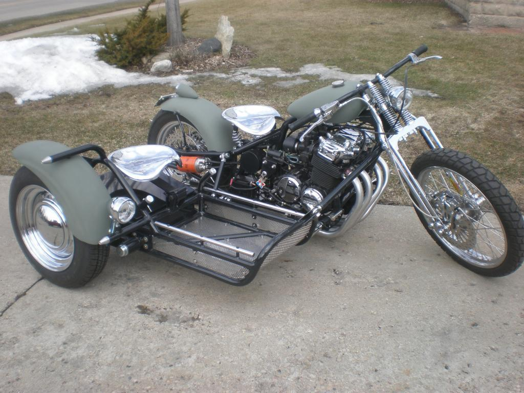 Building a Sidecar? - Page 2 - Custom Fighters - Custom